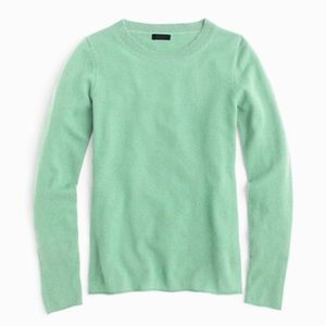 J.Crew Collection / cashmere t-shirt in mint